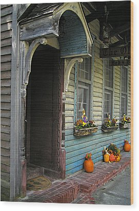 Wood Print featuring the photograph The Olde B And B by Judy  Johnson