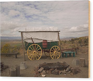 The Oregon Trail No 4 Wood Print