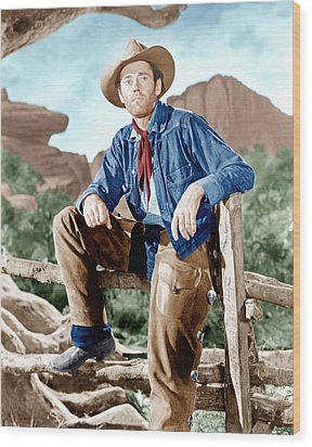 The Ox-bow Incident, Henry Fonda, 1943 Wood Print by Everett