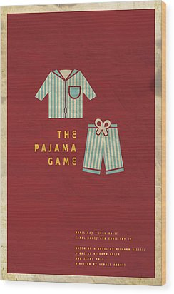 The Pajama Game Wood Print by Megan Romo
