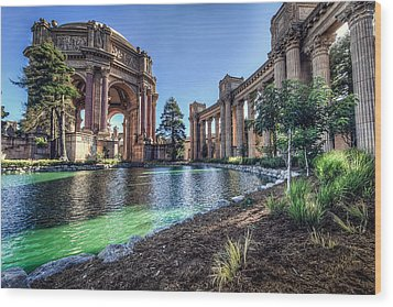 The Palace Of Fine Arts Wood Print by Everet Regal