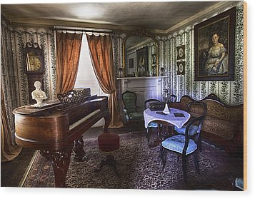 The Parlor Wood Print