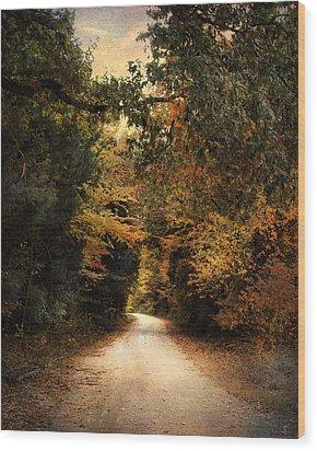 The Path Less Traveled Wood Print by Jai Johnson