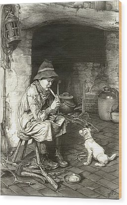 The Penny Whistle Wood Print by Ronald Osborne