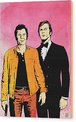 The Persuaders Wood Print by Giuseppe Cristiano