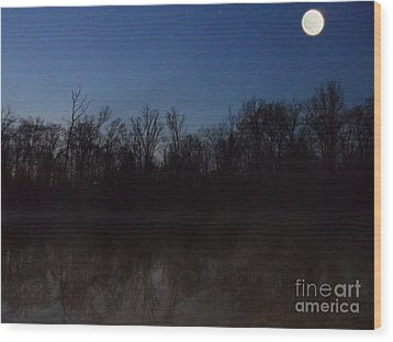 The Pretender Wood Print