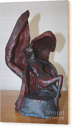 The Price Of Wings Wood Print by Sandi Dawn McWilliams