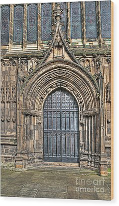 The Priory Church Of St Mary's Bridlington Wood Print