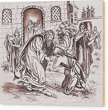 The Prodigal Son Wood Print by Norma Boeckler