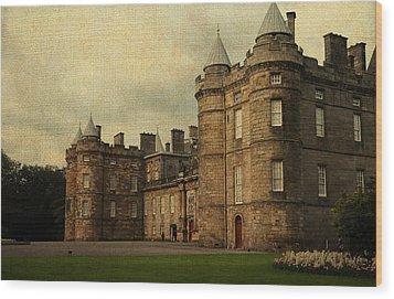 The Queen's Gallery. Edinburgh. Scotland Wood Print by Jenny Rainbow