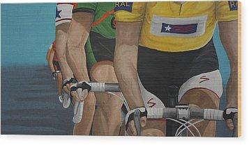 The Race Wood Print by Jennifer Lynch