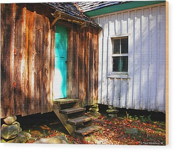 The Reagan House Kitchen Wood Print by Paul Mashburn