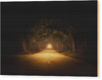 The Road To.... Wood Print by Marek Czaja