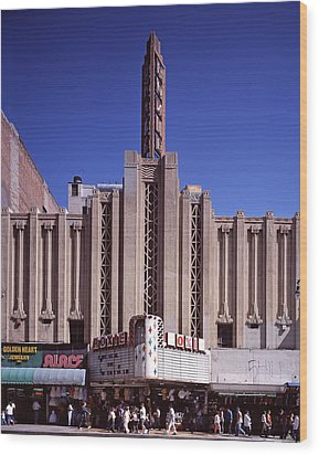 The Roxie Theater, Built By John M Wood Print by Everett