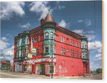 The Sauter Building Wood Print by Dan Stone