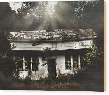 The Shack Wood Print