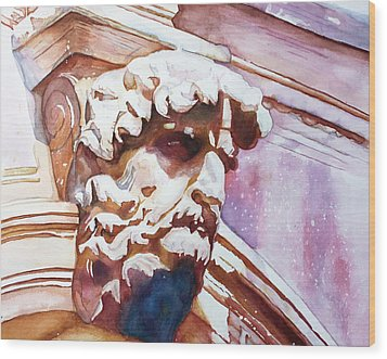 The Silent Venetian Wood Print