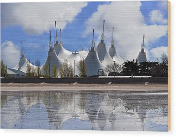 The Skyline Wood Print by Paul Howarth