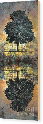The Small Dreams Of Trees Wood Print by Tara Turner