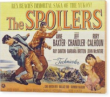 The Spoilers, Rory Calhoun, Jeff Wood Print by Everett