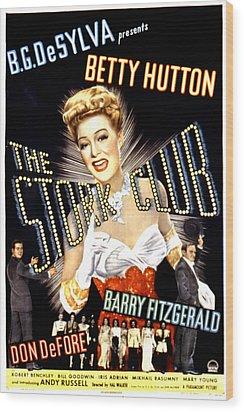 The Stork Club, Don Defore, Betty Wood Print by Everett