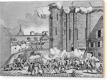 The Storming Of The Bastille, 1789 Wood Print by Everett