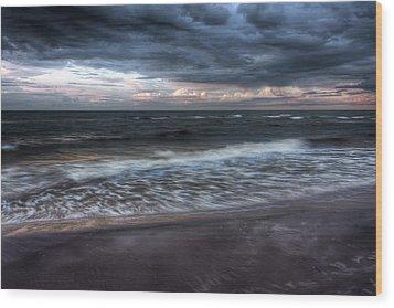 The Surf Wood Print by Matt Dobson