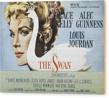 The Swan, Grace Kelly, 1956 Wood Print by Everett