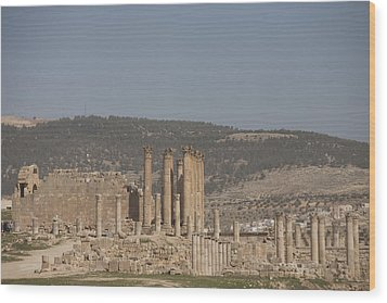 The Temple Of Artemis In The Ruins Wood Print by Taylor S. Kennedy
