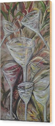 The Winetoast Wood Print