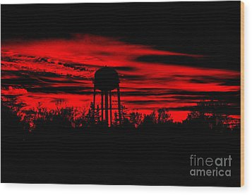 Wood Print featuring the photograph The Tower by Tamera James