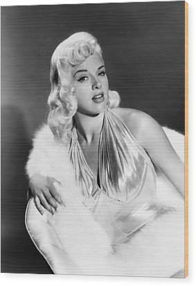 The Unholy Wife, Diana Dors, 1957 Wood Print by Everett