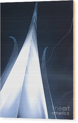 The U.s. Air Force Memorial Stands Wood Print by Stocktrek Images