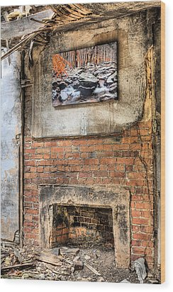 The Value Of Art Wood Print by JC Findley