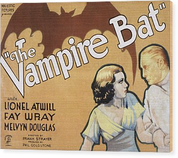 The Vampire Bat, Fay Wray, Lionel Wood Print by Everett