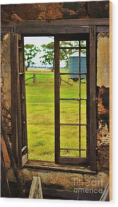 Wood Print featuring the photograph The View From Within by Blair Stuart
