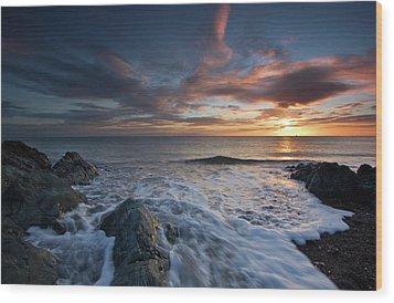 The Wash At Dawn Wood Print