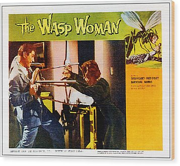 The Wasp Woman, From Left Anthony Wood Print by Everett
