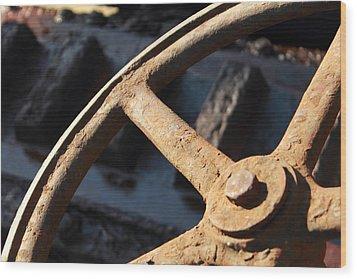 The Wheel Wood Print by Steve K
