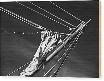 The Wind Not Caught Wood Print by Ryan Weddle