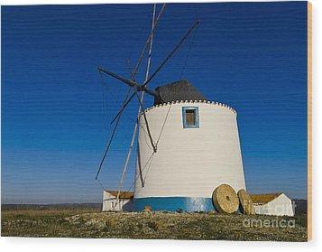The Windmill Wood Print by Heiko Koehrer-Wagner
