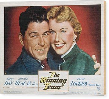 The Winning Team, Ronald Reagan, Doris Wood Print by Everett