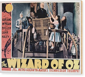 The Wizard Of Oz, Jack Haley, Ray Wood Print by Everett