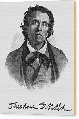Theodore D. Weld (1803-1895) Wood Print by Granger