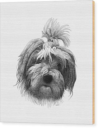 Thilde Wood Print