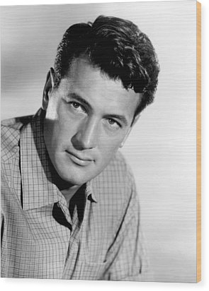 This Earth Is Mine, Rock Hudson, 1959 Wood Print by Everett