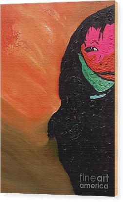 This Is It Wood Print by Ayasha Loya