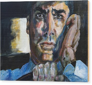 Thomas Gibson In The Reaper Returns Wood Print by Ginette Callaway