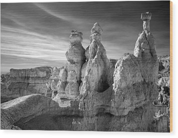 Wood Print featuring the photograph Three Kings by Mike Irwin