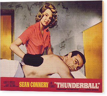 Thunderball, Molly Peters, Sean Wood Print by Everett
